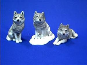 sandicast wolf figurines