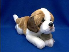 saint bernard plush stuffed animal russ berrie classic
