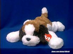 saint bernard plush stuffed animal yodels