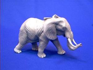 African elephant toy miniature