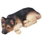german shepherd figurine sandicast snoozer