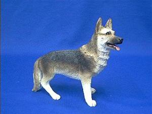 Sandicast mid size German Shepherd Figurine