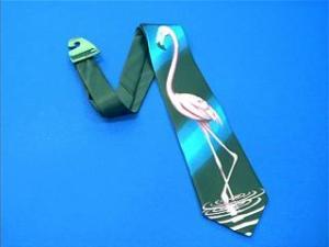 flamingo necktie