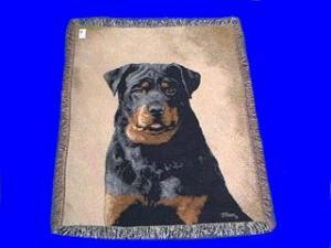 rottweiler blanket throw tapestry