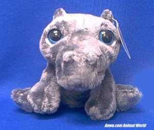 bright eyes hippo plush stuffed animal