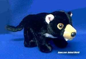 tasmanian devil plush stuffed animal toy