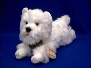 west highland white terrier plush stuffed animal westie