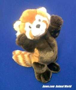 Standing Red Panda Plush Stuffed Animal