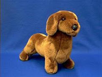 douglas red dachshund plush stuffed animal johann