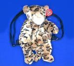 leopard backpack child size