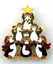 penguin brooch pin jewelry