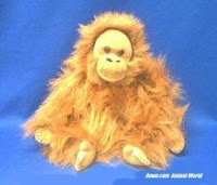 Orangutan Plush Stuffed Animal Toy