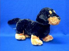 Dachshund plush stuffed animal toy dog