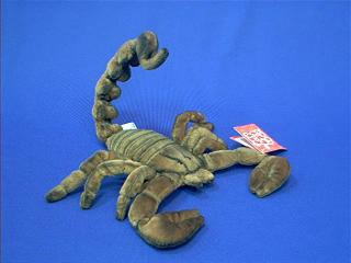 scorpion plush stuffed animal toy