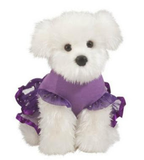 maltese plush stuffed animal toy