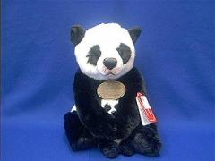 panda bear mother baby plush stuffed toy