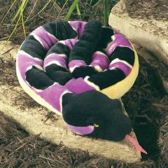 rattlesnake plush stuffed animal toy