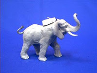 safari elephant toy miniature