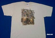 buck deer t shirt