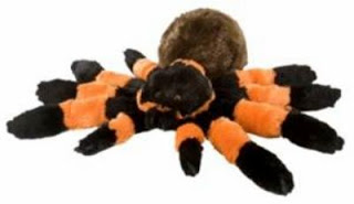 tarantula spider plush stuffed animal toy