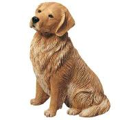 sandicast golden retriever figurine original size