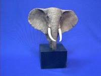 Sandicast Elephant Figurine Statue