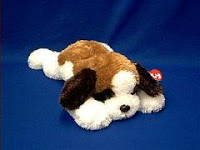 saint bernard plush stuffed animal yodeler
