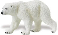 polar bear toy miniature