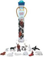 Arctic Toy Animals Tube