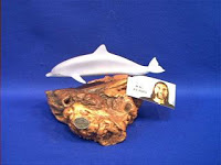 john perry dolphin figurine statue