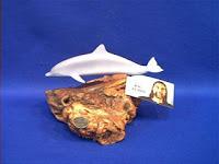 john perry dolphin figurine statue