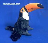 toucan bird plush stuffed animal toy