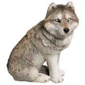 Sandicast Wolf Figurine Statue