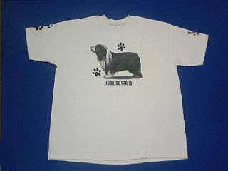 bearded collie t shirt