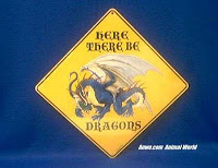 dragon crossing sign