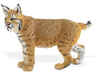 bobcat miniature toy replica