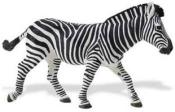large zebra toy miniature