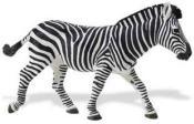large zebra toy miniature