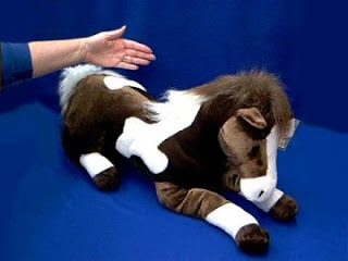 jumbo large horse stuffed animal plush toy