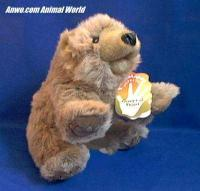 grizzly bear cub puppet