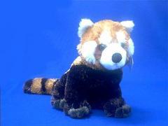 red panda stuffed animal plush toy