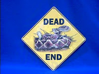 Rattlesnake Sign Dead End