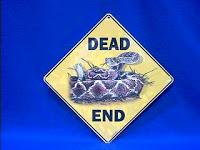Rattlesnake Sign Dead End