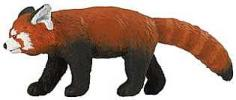 red panda toy miniature