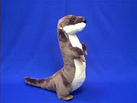 large river otter stuffed animal plush toy