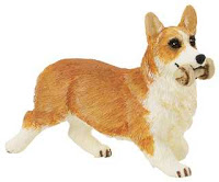 Welsh Corgi Miniature Toy