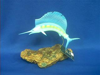 John Perry Sailfish Figurine Statue