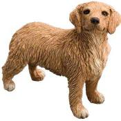 Golden Retriever Figurine Statue Sandicast Mid Size