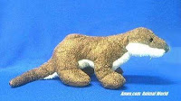 small river otter stuffed animal plush toy