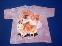 Pomeranian T Shirt Mountain